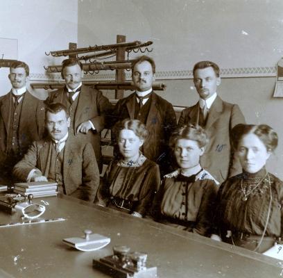 Eichwalde Lehrer der Eichwalder Schule im Jahre 1913
