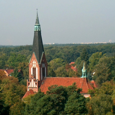 Eichwalde evangelische Kirche am Händelplatz